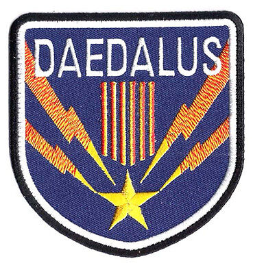 "Stargate SG-1 Daedalus Screen Accurate Uniform 4"" Patch- USA Mailed (SGPA-42)"
