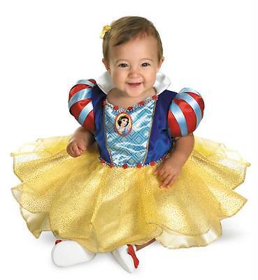 Disney Prinzessin Schneewittchen Kleinkinder Kostüm 12-18 Mos - Schneewittchen Kostüm Kleinkind