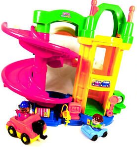 Garage rampes amusantes Little People Fisher-Price