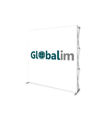 Pop-up Display 3x3, Messewand, Faltdisplay,inkl.Transportkoffer