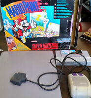 Mario Paint (Boxed, Mouse, Game and Pad)