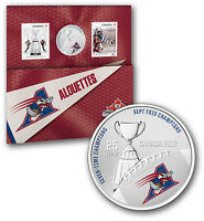 Montréal Alouettes - Coloured Coin and Stamp Set