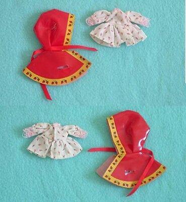 Vintage Strawberry Shortcake Raincoat and Rose Dress - Strawberry Shortcake Dress