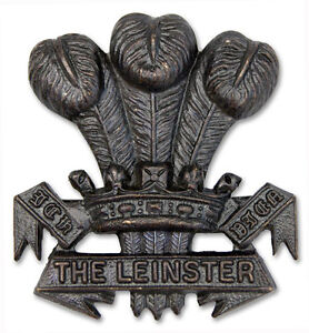 Officer's Cap Badge The Leinster Regiment (WW1 Variant)
