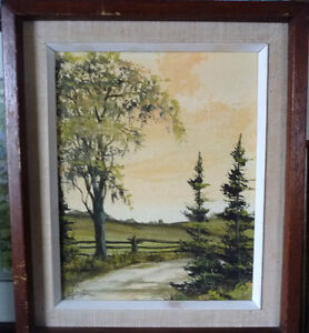 3 Original Oil Paintings from a Series by O.J. Coghlin