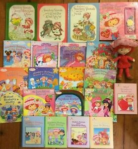 STRAWBERRY SHORTCAKE books & doll $2 each or 22 for $25
