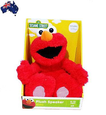 OFFICIAL MERCHANDISE LARGE Sesame street Elmo Soft Plush SPEAKER Toy