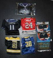 2007-08 Upper Deck Mini Jersey & Hockey Card Lot