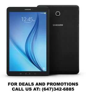 Samsung Galaxy Tablets on sale! Tab A, Tab E, Tab S & Tab S2!