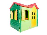 Little tikes country cottage plastic play house