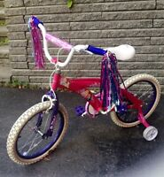 Disney Princess pink bike