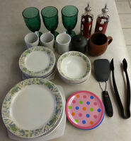 Dishes - Assorted