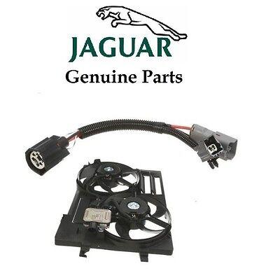 Jaguar Auxiliary Fan (For Jaguar X-Type Auxiliary Fan Wiring Harness Kit Genuine C2S49717/C2S46951 )