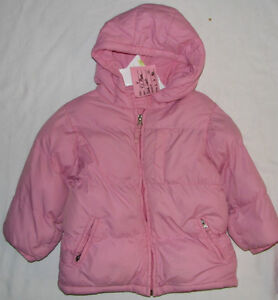 Size 4 Girls Pink The Children's Place Winter Coat