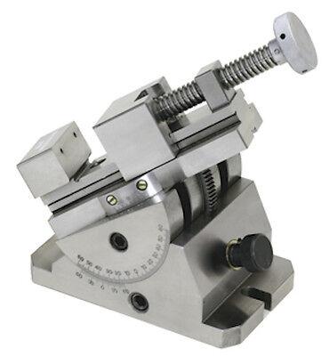 Precision Tilt Swivel Grinding Inspection Vise - Steel - 14678