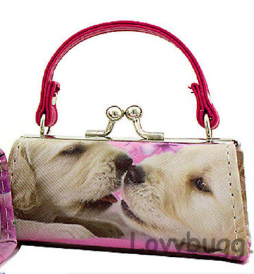 Puppy Kisses Dog Purse Bag Pink Strap for American Girl Doll Accessory Lovvbugg