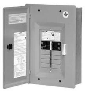 100amp commander panel includes breakers