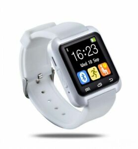 $40 NEW Smart Watch Phone Bluetooth & More.Colour: White.Main