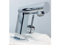 High quality designer Francis Pegler basin mixer tap,costs £220,bargain£45,brandnew,not to be missed