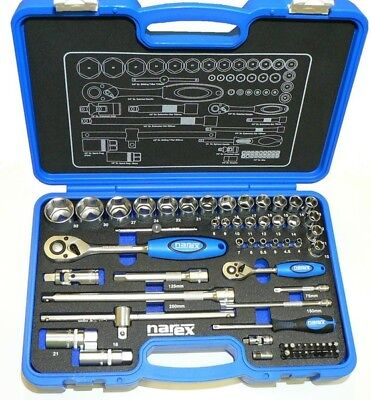 Narex Professional Socket And Wrench Set 14 12 - Fully Set - Factory New