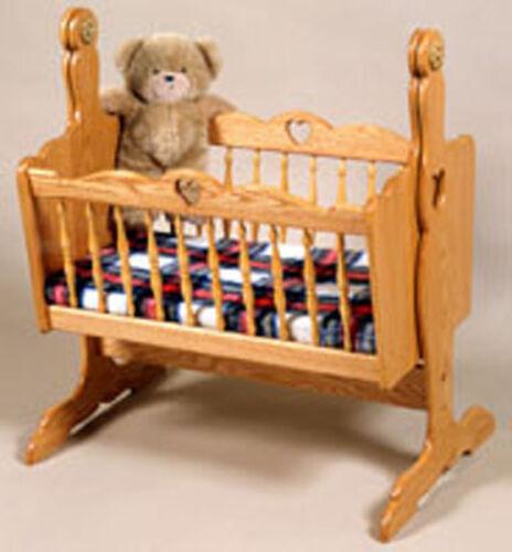 BLUEPRINT...PLAN...BABY CRADLE  Woodworking Blueprint Plan