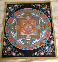 "Thangka Painting from Nepal - approx. 17"" x 21"""
