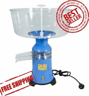 Cream Milk Separator Centrifugal Electric Plastic 100lh 220v Worldwide New