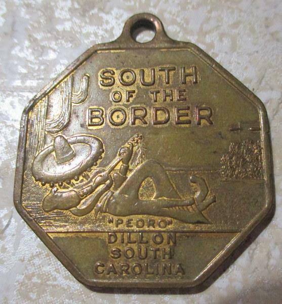 Rare South Of The Border Good Luck Token, South Carolina