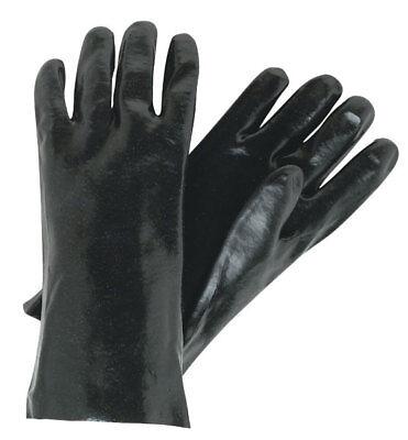 1 Dozen Memphis Single Dipped Pvc Coated Work Gloves Large
