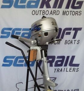 NW 2.5HP 4 STROKE OUTBOARD MOTOR Melbourne Region Preview