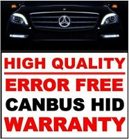 ERROR FREE CANBUS HID KIT MERCEDES BMW +18 MONTHS STORE WARRANTY