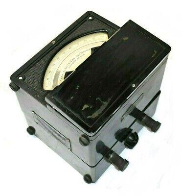 Vintage Hickok Electrical Instrument 17 Ws Universal Wattmeter 750v 50a