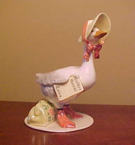 RETIRED Hagen-Renaker Specialty #3293 LARGE MOTHER GOOSE - Ceramic Figurine
