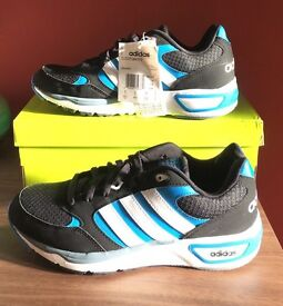 Adidas running trainers MENS size 8 or size 9 BRAND NEW IN BOX