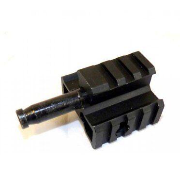 Airsoft Well bipod adapter for L96 / MB01 softair sniper RIS steel, usado segunda mano  San Jerónimo