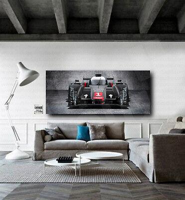 Audi R18 E-Tron Quattro Racing Car Canvas Art Poster Print Home Wall (Car Canvas Art)