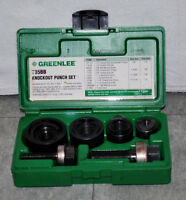 Greenlee 735BB Knockout Punch Kit 1/2-Inch to 1-1/4-Inch
