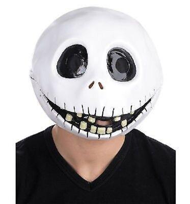 Nightmare Before Christmas - Jack Skellington Adult Latex Mask ](Jack Skellington Latex Mask)