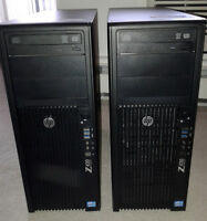 HP Z420 Workstations -  Xeon E5-1603 2.8Ghz Quad Core