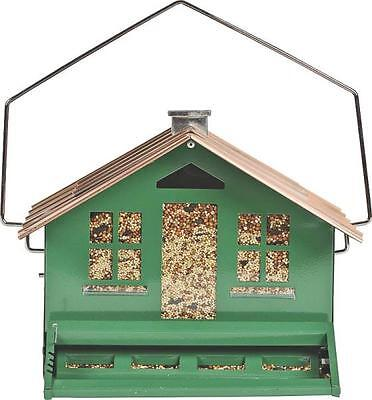 NEW PERKY PET 339 SQUIRREL BE GONE II HOME STYLE 12LB BIRD FEEDER HOUSE 6818793