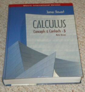 Calculus Concepts and Contexts 3 Kitchener / Waterloo Kitchener Area image 1