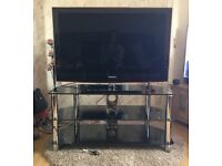 "42"" Samsung TV with tv stand included"