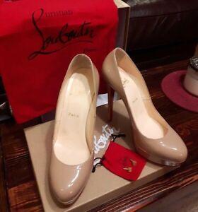 Bianca louboutins size 9 authentic