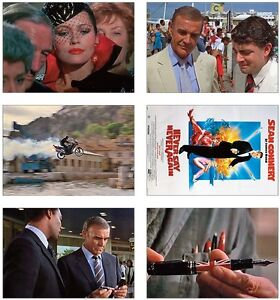 Never-Say-Never-James-Bond-007-CARTOLINA-Set