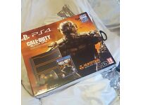 PlayStation 4 1TB (Brand new and sealed) Black ops limited edition package