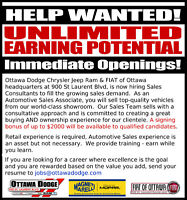 Sales Consultant - signing bonus available