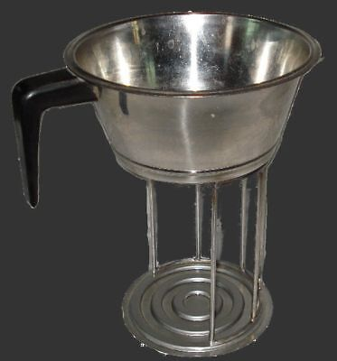 Convert commercial pour over brewer to single cup