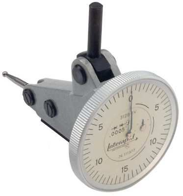 Tesa Brown Sharpe 312b-1v Dial Test Indicatorvert0 To 0.060 In