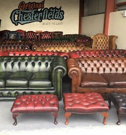 LARGEST & ONLY Supplier Of ORIGINAL Chesterfields ALL PROFESSIONALLY RESTORED!!!!! From £300!!!!