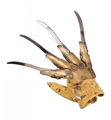 treet Handschuh Freddy Krueger die Klauen der Nacht 024464 (Freddy Krueger Metall Handschuh)